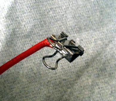 binder alligator clip