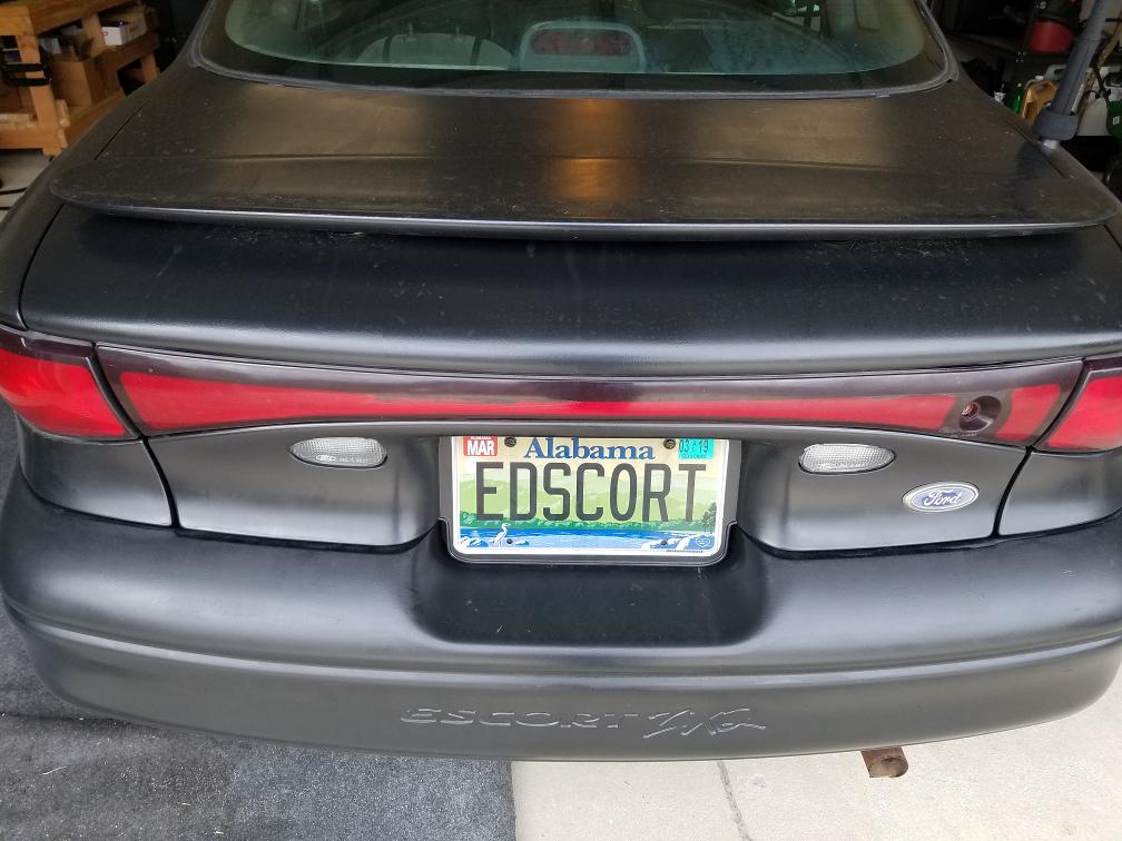 Photo of Edscort rear