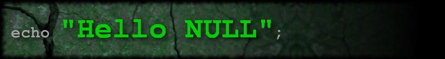 HelloNULL